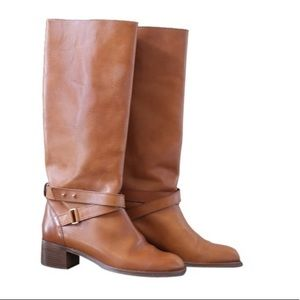 J. Crew Vachetta Leather Boot
